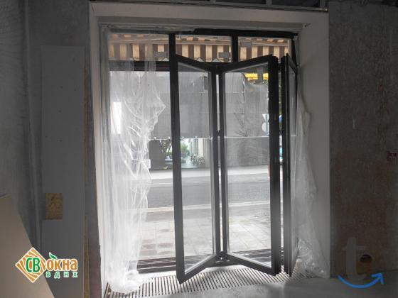 Окна-«гармошки» и складные двери