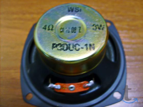 Динамик WSI 4 ом. 3w. 1 шт.