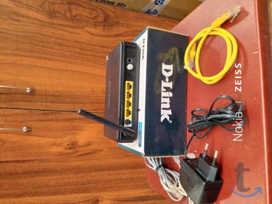 ПРОДАМ СРОЧНО маршрутизатор (роутер wi-fi) D- Link