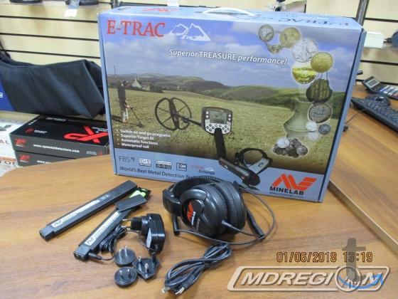 Металлоискатель Minelab Explorer E-Trac (PRO)максимальная комплектация