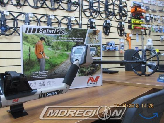 Металлоискатель Minelab Safari(стандарт.комплектация)