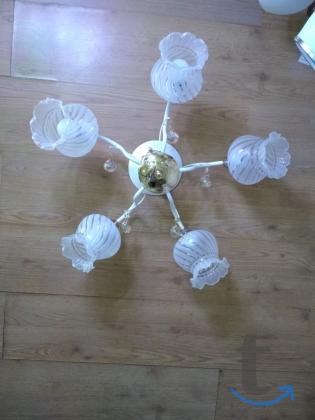 современный дизайн люстры на 5 ламп арт- 505745