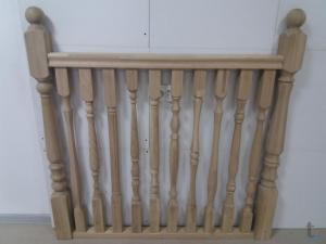 Балясины из дуба для лестниц в городеВладимир