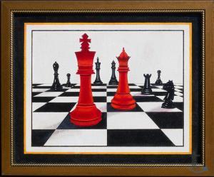 Шахматы в живописи № 2