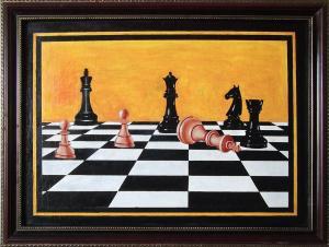 Шахматы в живописи № 3