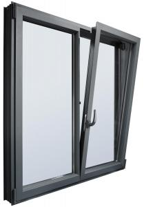 Окна алюминиевые