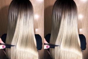 Восстановление и выпрямление волос в городеКраснодар