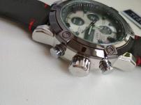 Большие Часы АМСТ-3022 с кожаным ремешком