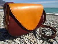 Продам кожаную женскую сумку ручной работы