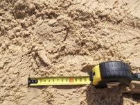 Песок жёлтый карьерный в мешках.