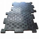 Резиновые плиты для пола в гараже монтаж на стяжку