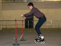 Прочные сборные полы для катания на роликовых коньках