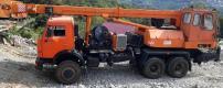 Продам бурильно-крановую машину БКМ-1514;КАМАЗ-53228;