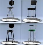 Барные стулья и табуреты, другие модели.