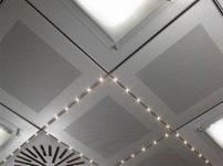 Металлические потолочные панели