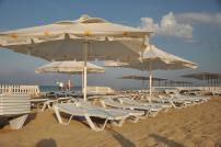 Зонт 4х4 м. пляжный, торговый, для кафе блочного слож
