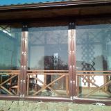 Прозрачные шторы ПВХ для бе...
