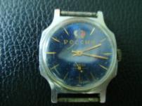 Мужские часы  ЗИМ , с синим циферблатом  Россия .