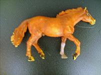 Ретро игрушка -  Лошадка , из СССР.