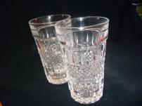 Два стакана из хрусталя - СССР.