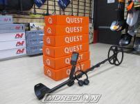 Металлоискатель Deteknix Quest Q40