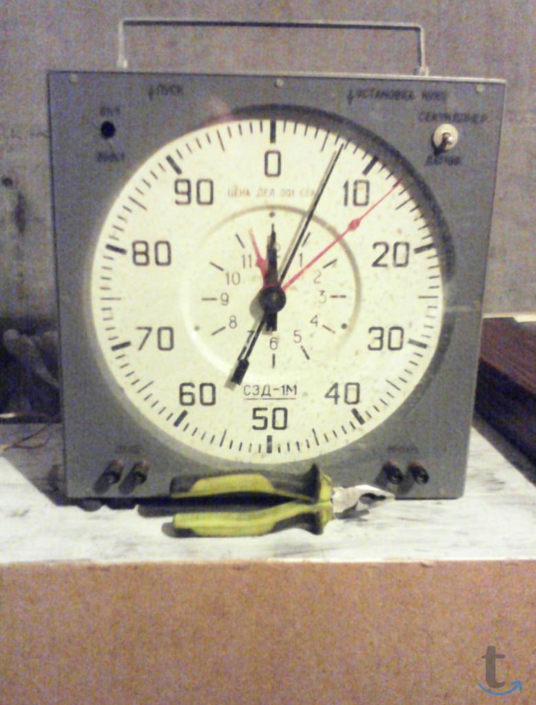 Часы секундомер СЭД -1М