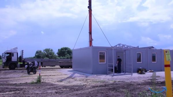Блок контейнеры для модульных зданий