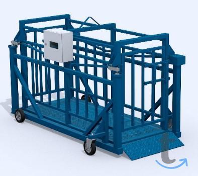 Весы Ферма-500-С-М1 животноводческие (для скота)