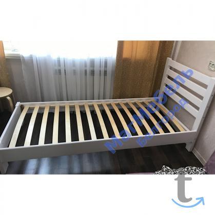 Кровать Вероника массив односпальная
