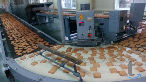 Производство сахарного печенья