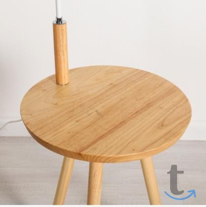 Уютный торшер со столиком