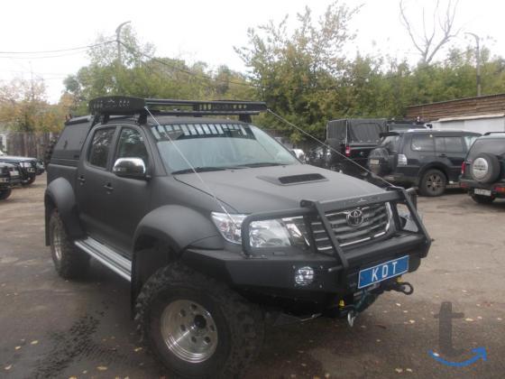 Тюнинг внедорожников и пикапов в городеОмск
