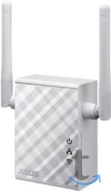 Ретранслятор ASUS RP-N12 WiFi 300Мбит/сек. + 1 порт LAN 100Мбит/сек