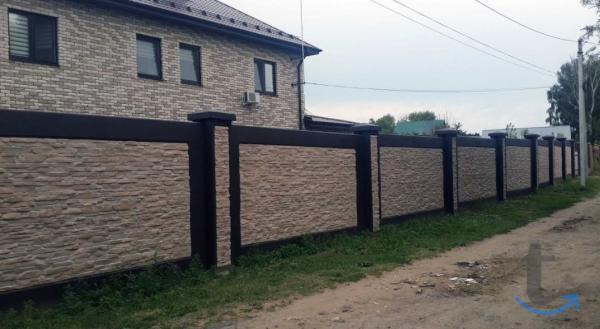 бетонные заборы. в городеМосква