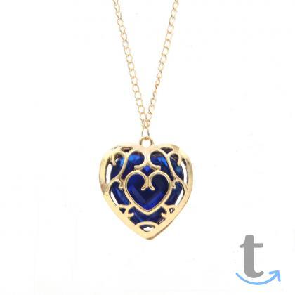 Ожерелье брелок Сердце Океана