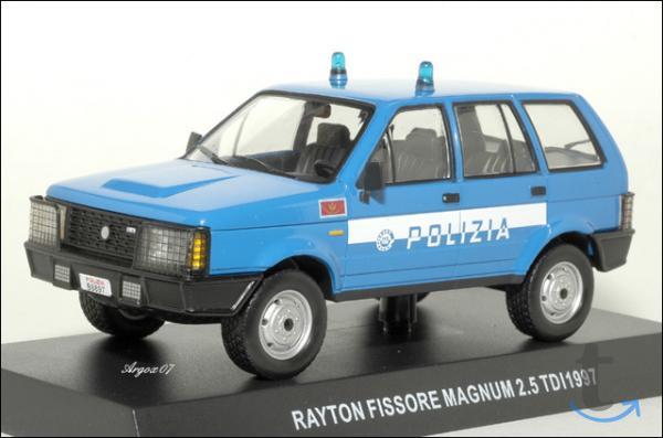 Полицейские машины мира спец. выпуск 2 RAYTON FISSORE MAGNUM 1997