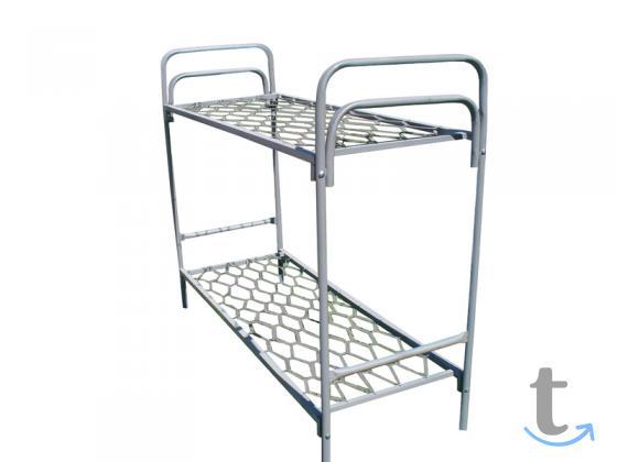 Кровати металлические одноярусные оптом