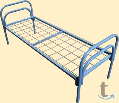 Деревянные кровати, Кровати металлические спинки ЛДСП