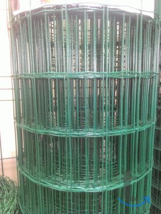 Сетка сварная Н/У В пвх 1.5*20 м толщина 2.5мм