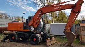 Продам колесный экскаватор Хитачи ZX-160W в городеЧелябинск