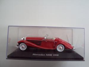 Mercedes Benz 540K 1936 в городе Липецк