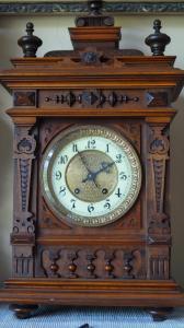 Каминные часы с боем Lenzkirch 59 см, 1886 год в городе Пермь
