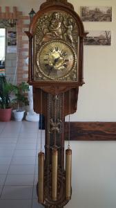 Редкие настенные часы с четвертным боем 140 см в городе Пермь