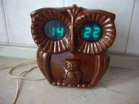 Часы - Сова  Электронные с будильником.