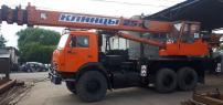 Продам автокран Клинцы, КАМАЗ-43118, 25 тн-28м,2012 г