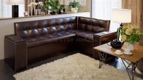 Кухонный угловой диван со спальным местом Остин