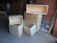 Деревянные и фанерные ящики