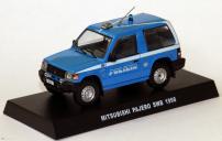 Полицейские машины мира спец. выпуск 4 MITSUBISHI PAJERO 1998