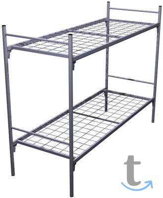 Двухъярусные железные кровати, о...