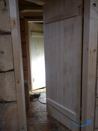 Двери из осины. Входные В парилки, душевые, сауны